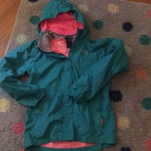 Girls The North Face rain jacket